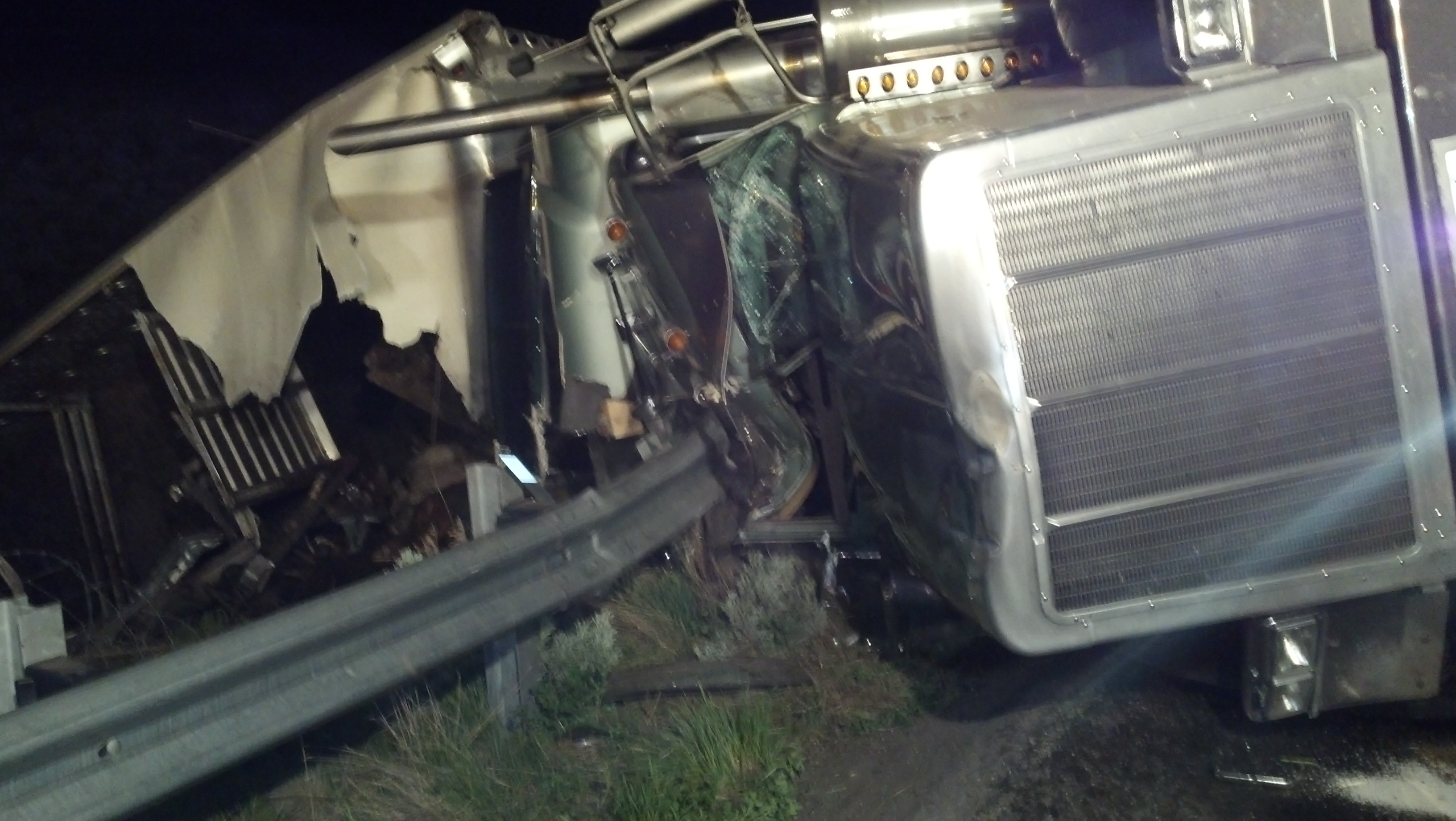 Cattle Truck Crash Wasatch County Fire