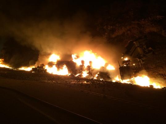 Tanker Fire February 6 2015
